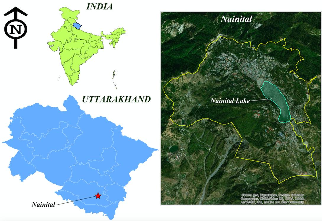 nainital map 2